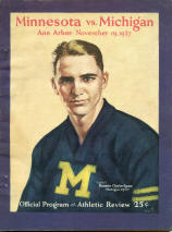 Michigan vs Minnesota 1927