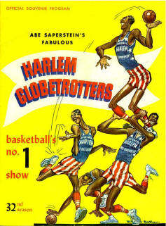 1959 Globetrotters Program